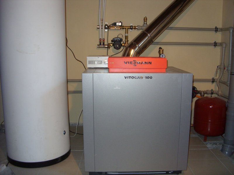Газовый водогрейный котел VIESSMANN Vitogas 100F GS1D880