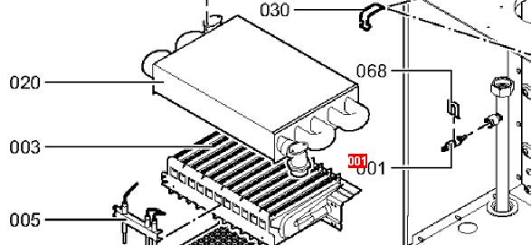 Теплообменник 82 ламели viessmann прокладка теплообменника опель астра h артикул